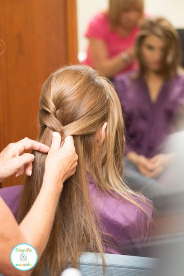 peluquería de boda