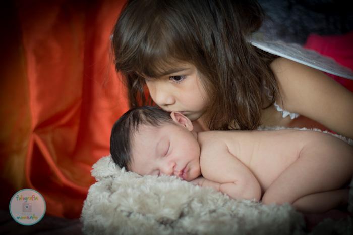sesion recien nacido y hermana
