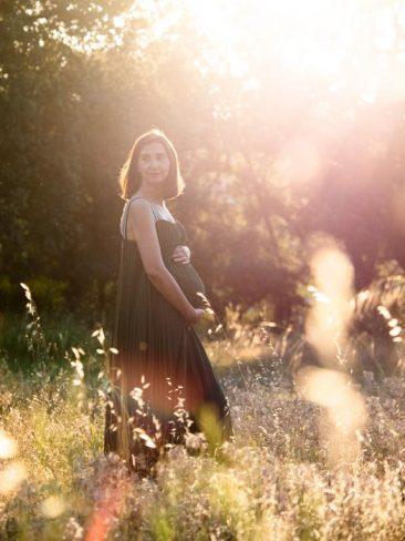 foto embarazada madrid