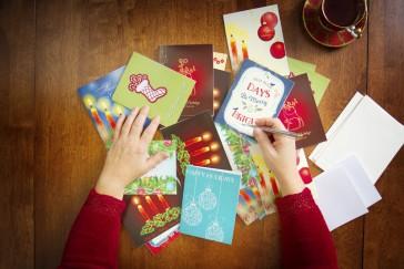 Dónde imprimir tus felicitaciones navideñas