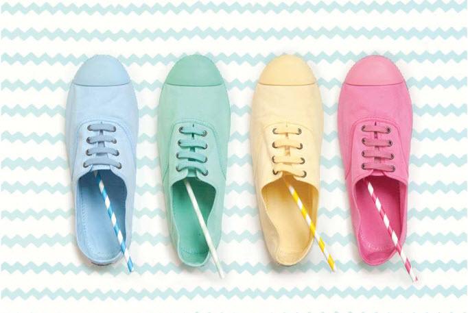 Colección de zapatillas victoria de la colección verano