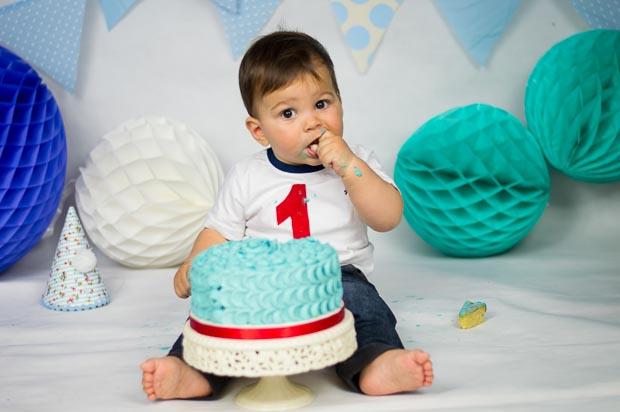 sesion de smash cake