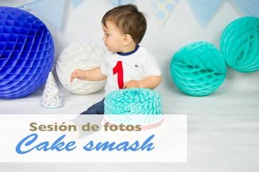 Fotos de cumpleaños o Cake smash: recuerdos del primer año