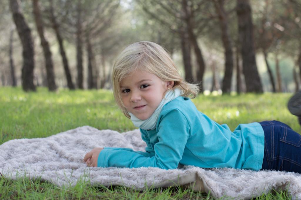Sesion fotos niños parque