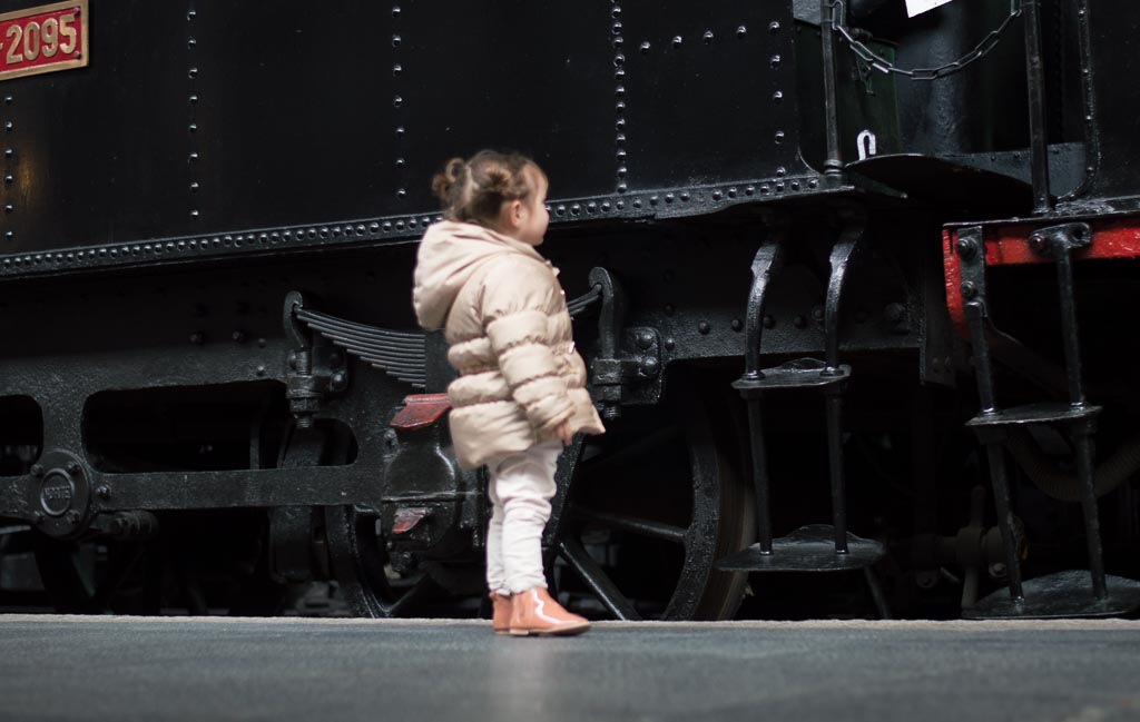 Madrid con niños: museo del ferrocarril