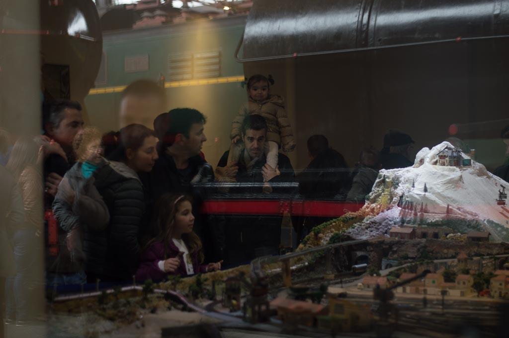 maquetas en el museo del ferrocarril