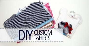 Cómo personalizar camisetas con retales de telas