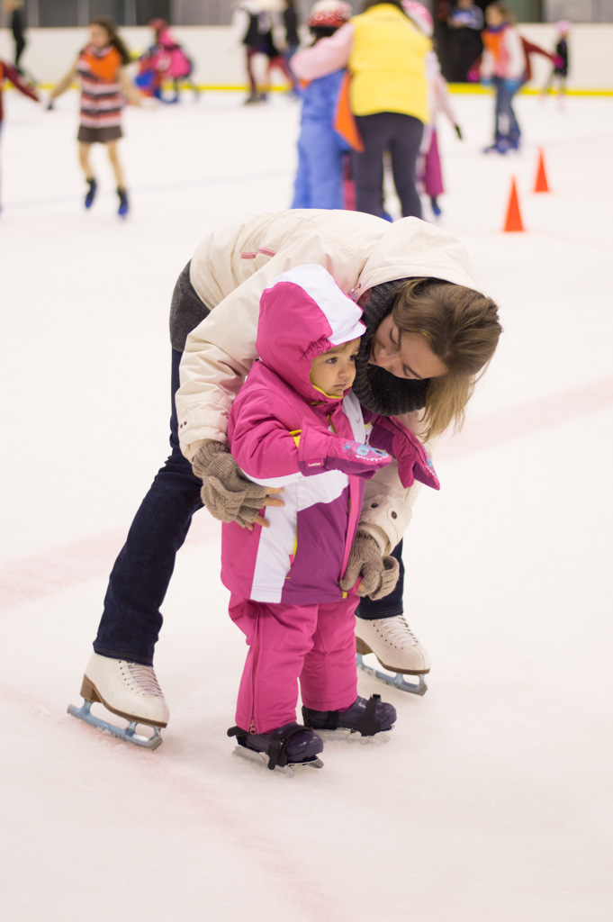 aprender a patinar sobre hielo