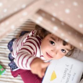 Un rincón de lectura infantil