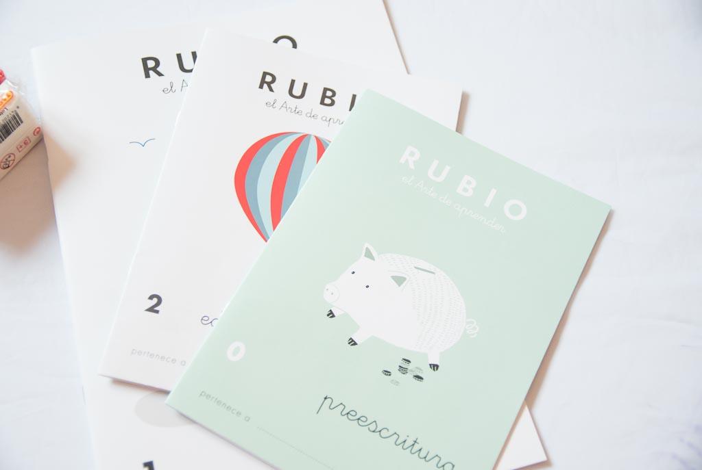 libro de actividades Rubio