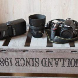 kit de fotografía para bloggers