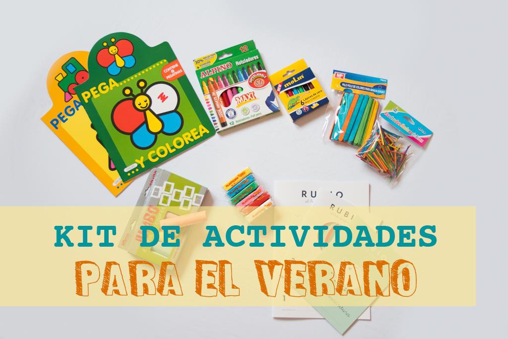 kit de actividades para el verano