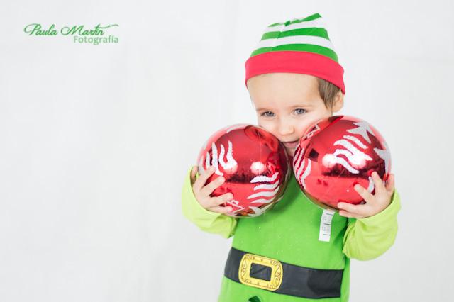 Disfraz duende de navidad