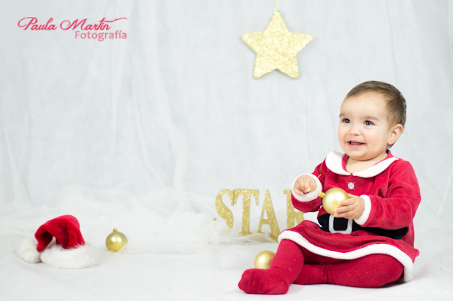 Disfraz navidad bebe