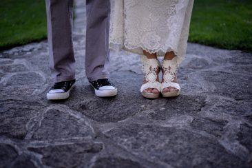 detalle de zapatos en una boda en madrid