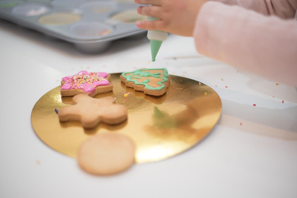 Galletas de mantequillas con niños