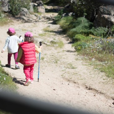 Excursión por la sierra de Madrid con niños