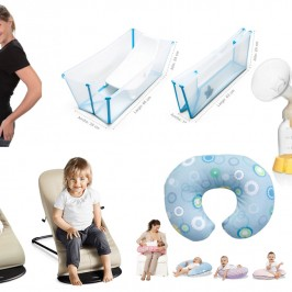 5 cosas  imprescindibles para los primeros meses del bebé