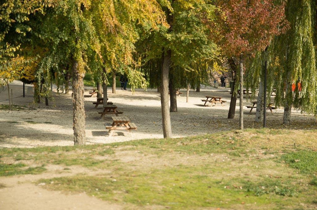 Zona de picinic del Parque Europa