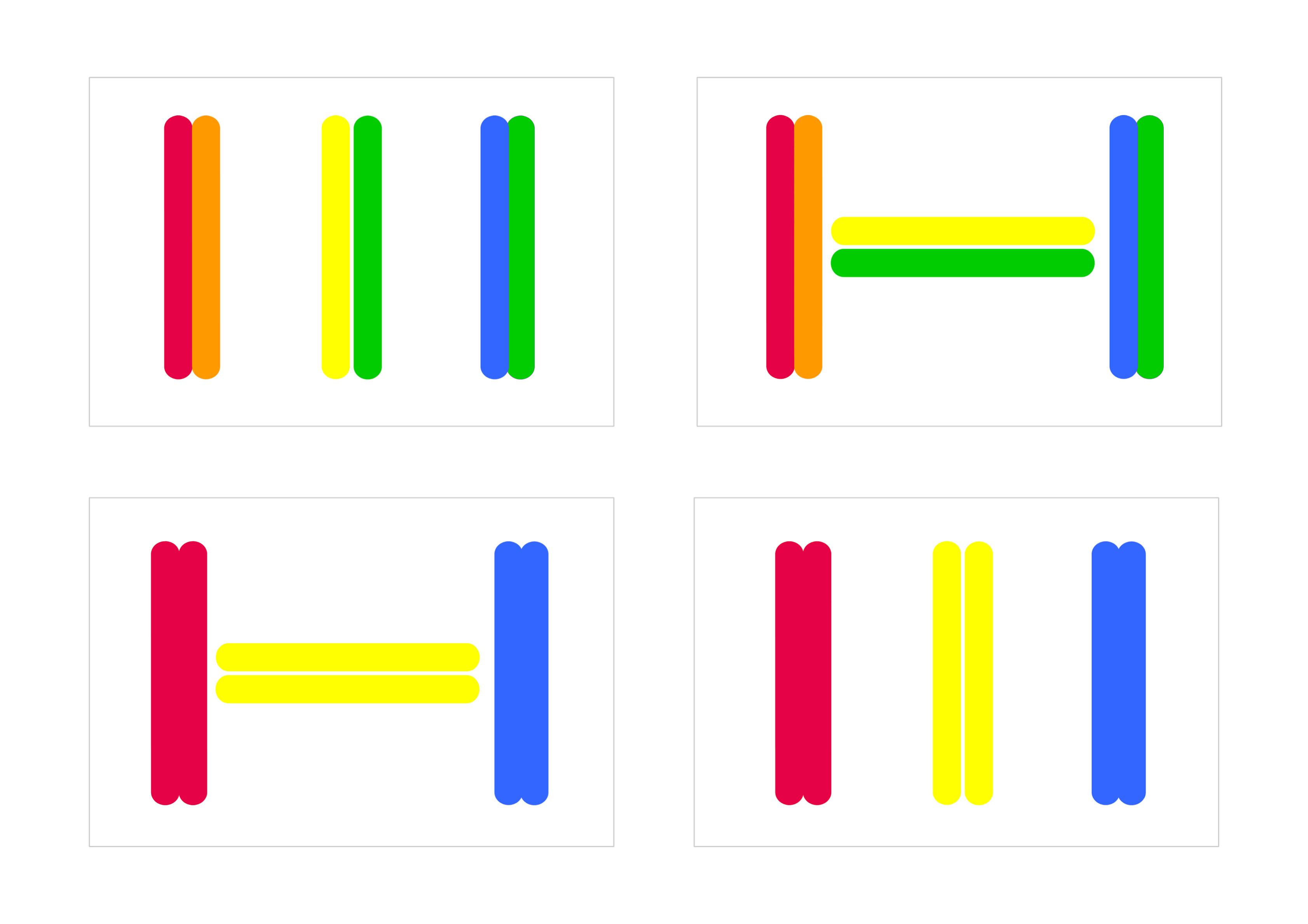 juego de logica con palos de colores