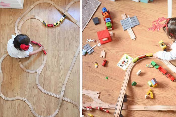 juguetes de madera de Lidl