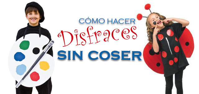 ideas de disfraces sin coser