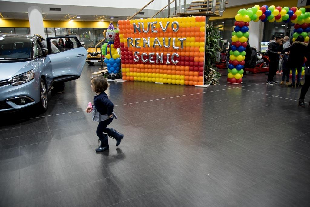Presentación Renault Scenic en el Family Fun Day