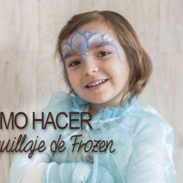 Pintacaritas Frozen: cómo hacer el maquillaje paso a paso