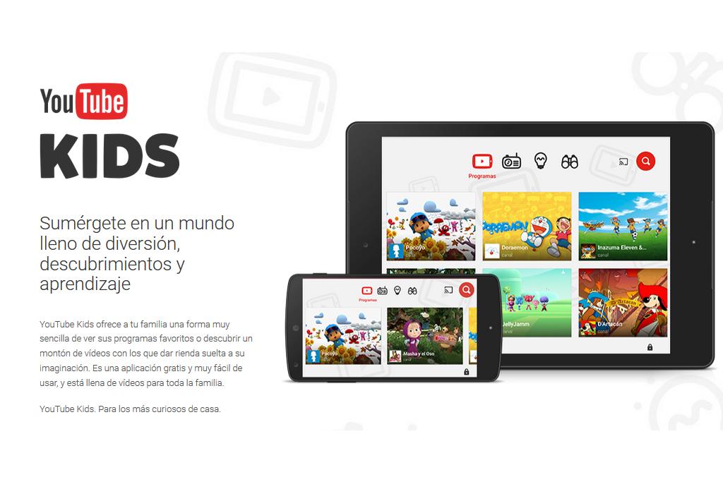 You tube Kids es un canal donde solo se ven videos para niños