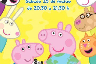 Peppa Pig celebra la Hora del Planeta para concienciar a los peques