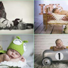 ¿Cómo son las sesiones de fotos de bebés recién nacidos?
