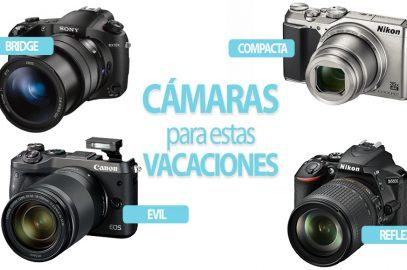 Qué cámara llevar de viaje: compacta, bridge, evil o réflex.