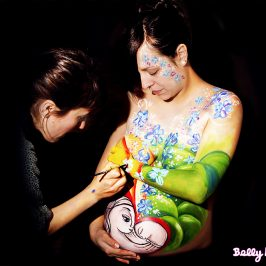 Descubre la moda del Belly Painting