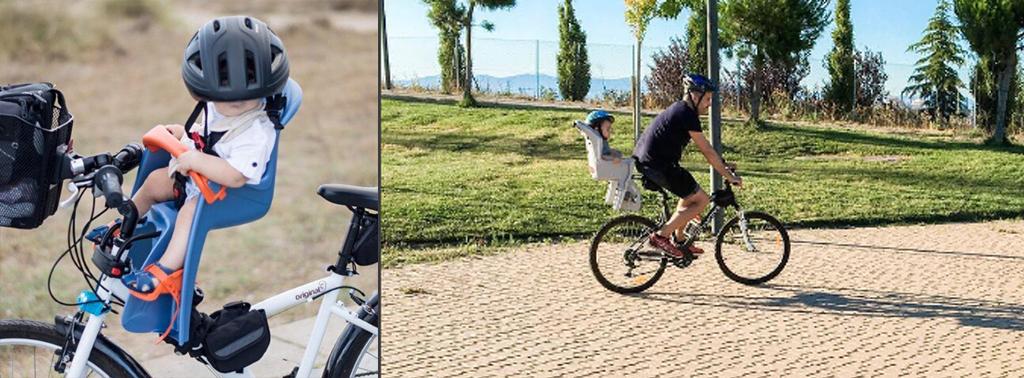 sillas de bici para llevar niños pequeños