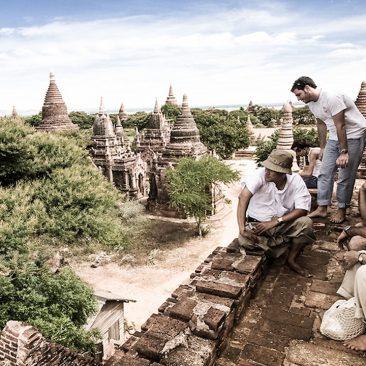 Viajeros en Nepal