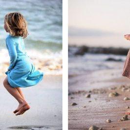 Ideas para hacer tu propia sesión de fotos en la playa con niños