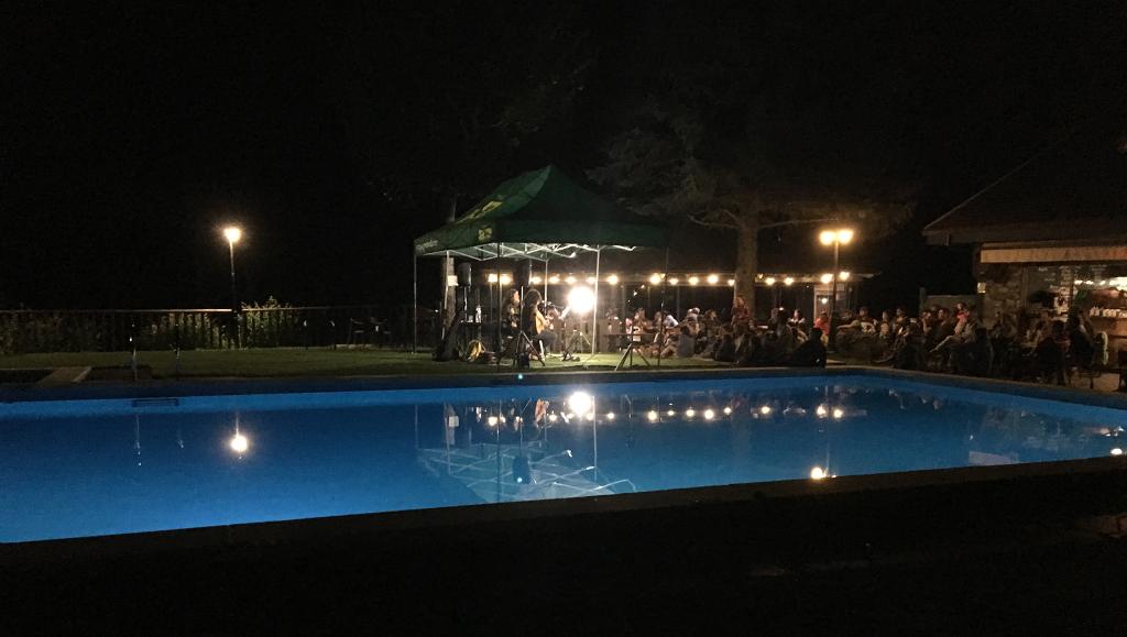 concierto nocturno en el camping verneda