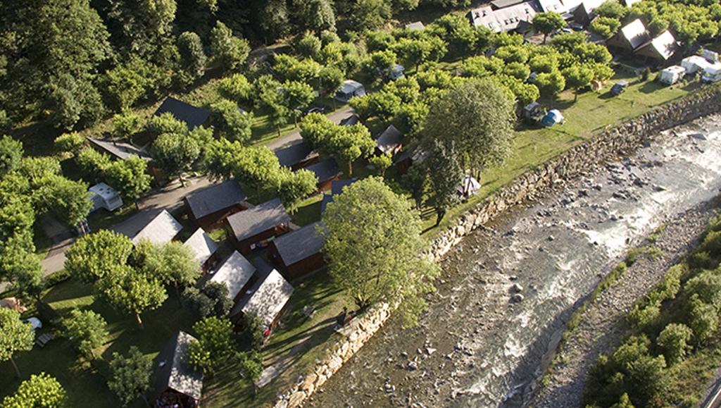 vista aerea camping verneda