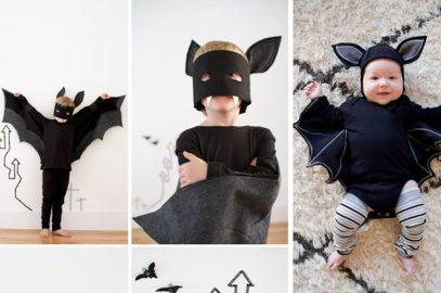 Cómo hacer un disfraz de murciélago para Halloween