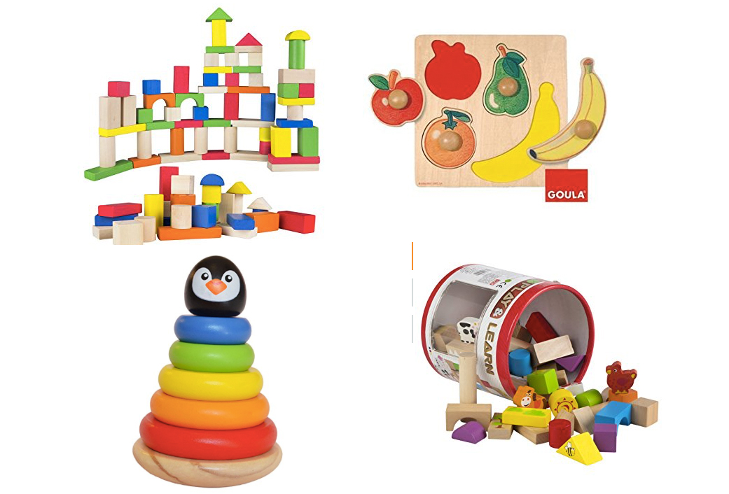 juguetes de madera para bebes