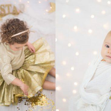 fotos de navidad en colores dorados