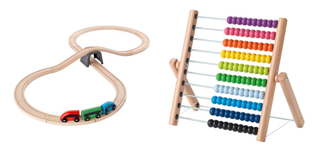 juguetes de madera en Ikea
