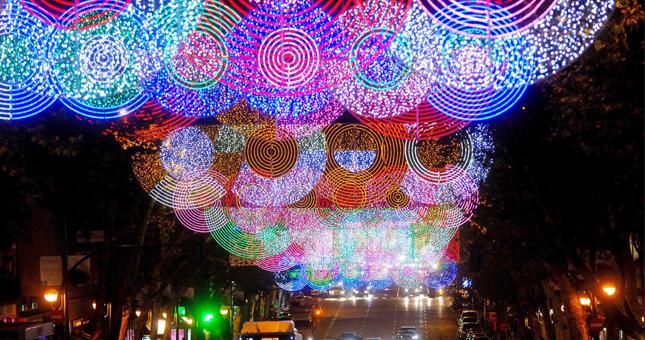 luces de Navidad en Madrid