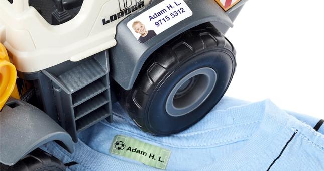 etiquetas personalizadas con foto para objetos