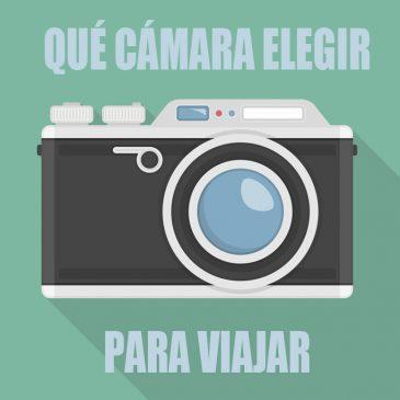 Cámara de fotos para viajar ligero