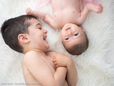 bebe de dos meses y hermano