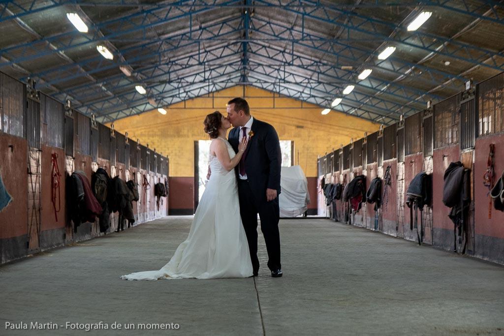 fotos boda en una hípica
