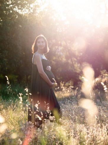 sesion fotos embarazada