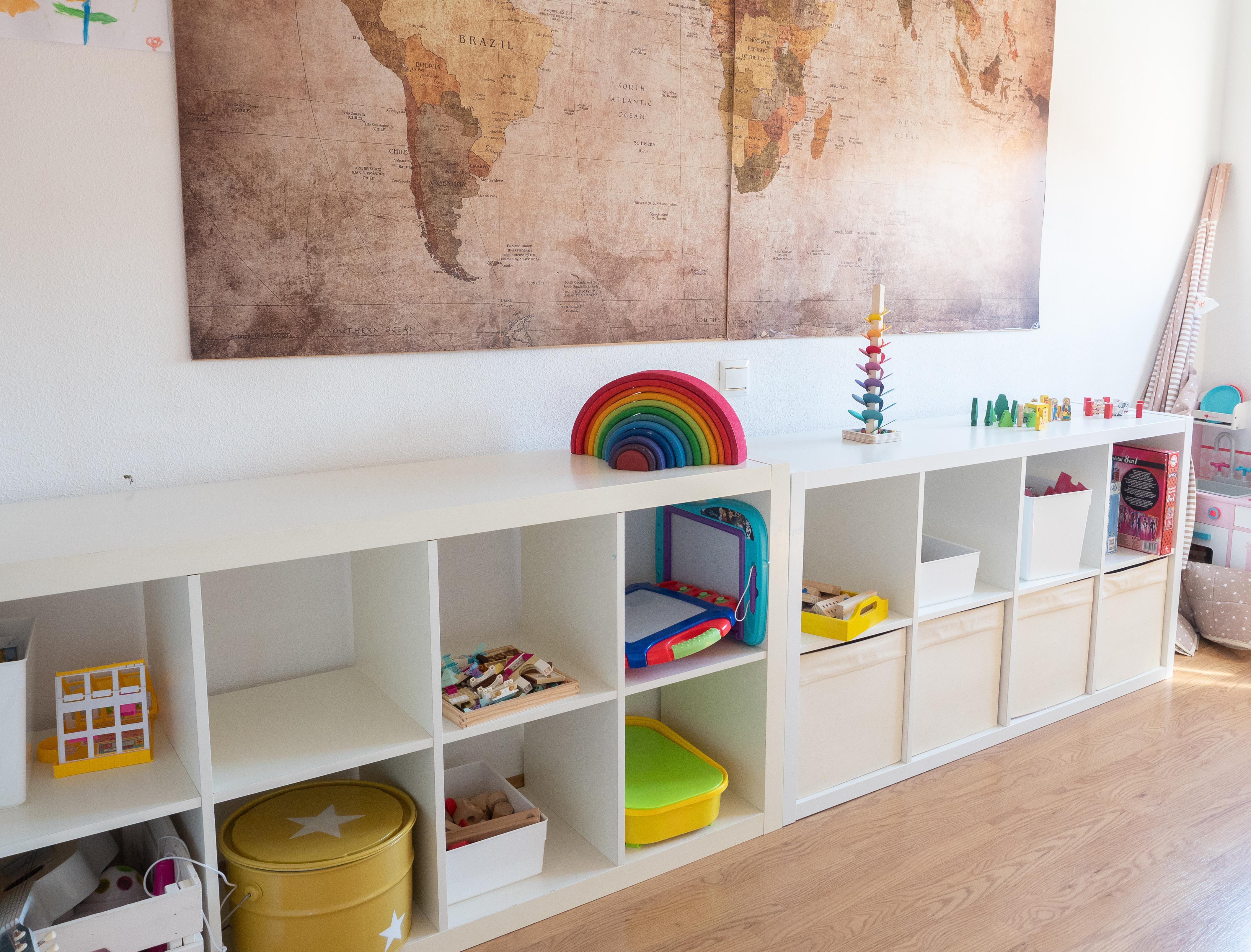 habitación de juegos infantil