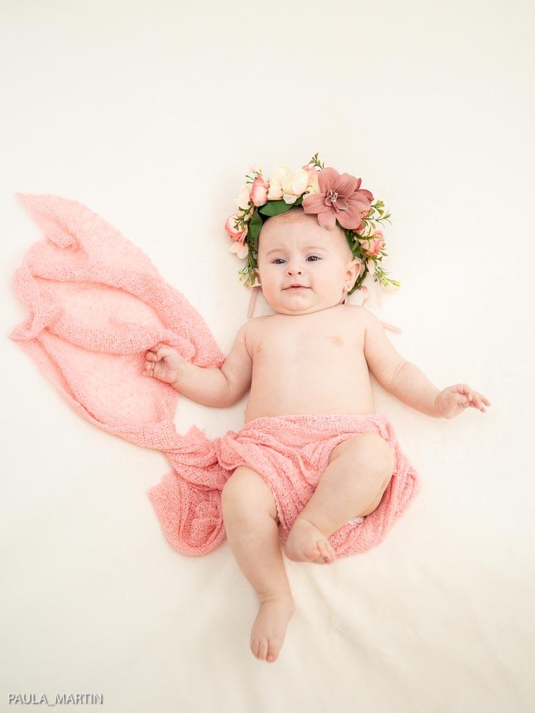 Fotografia bebe 4 meses